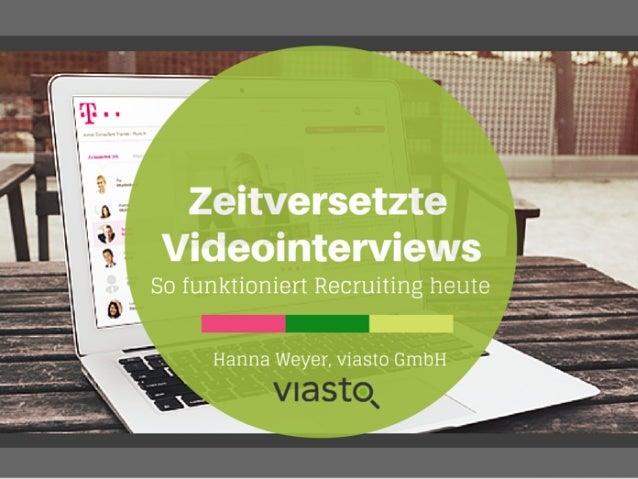 Hanna Weyer, M.Sc. Psychologie Business & Client Development viasto GmbH 2010 gegründet heute: 23 Mitarbeiter aus 8 Nation...