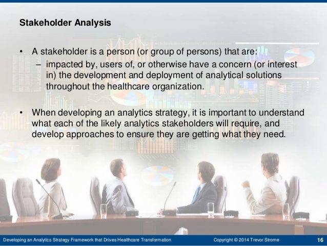 approaches to stakeholder impact analysis