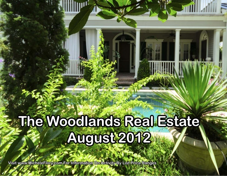 The Woodlands Real Estate - August 2012