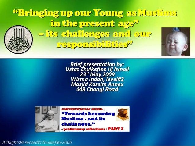 [Slideshare] bringingup youngmuslims(2009)2-update-2014