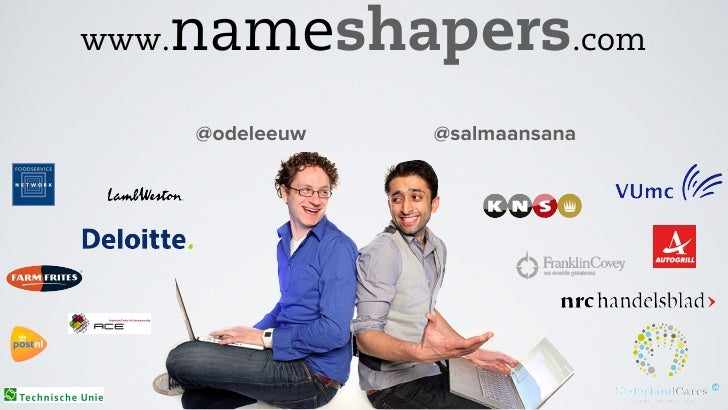 Cafetaria event 2.0 - Nameshapers voor Farm Frites - Fast food service met Twitter