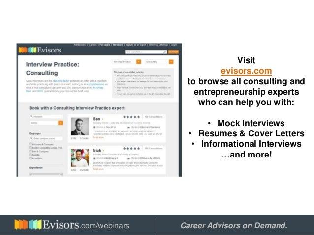 Consulting vs. Entrepreneurship