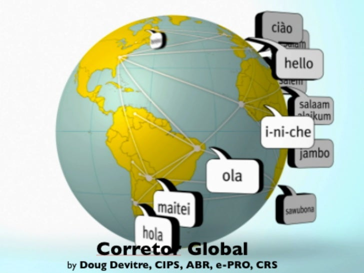 Corretor Globalby Doug Devitre, CIPS, ABR, e-PRO, CRS