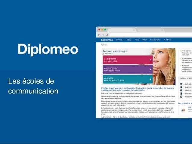 Les écoles de communication