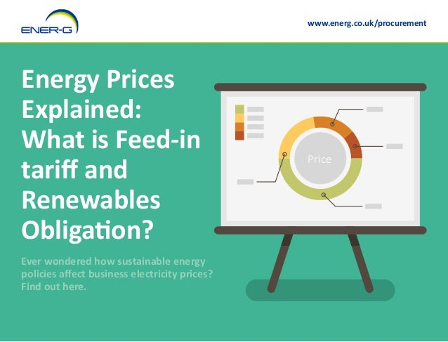 Energy Prices Explained: What is Feed-in tariff and Renewables Obligation? Ever wondered how sustainable energy policies a...