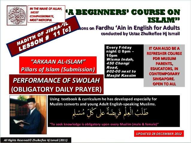 [Slideshare] fardh'ain(2012)-lesson#11c-arkaan-ul-islam-(2)swolah-[performance]-(28-december-2012)
