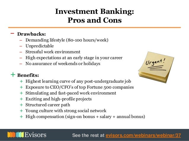investment banking essay