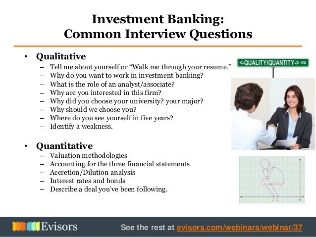 Investment banker job description