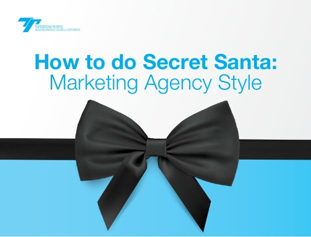 How to do Secret Santa: Marketing Agency Style