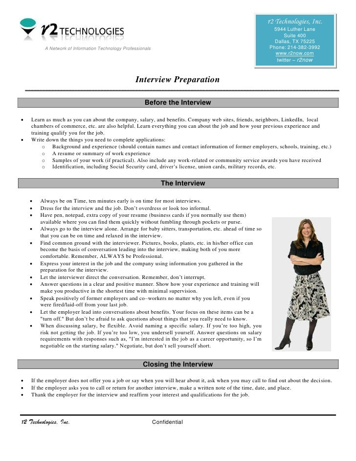 Simple Steps in Interview Preparation