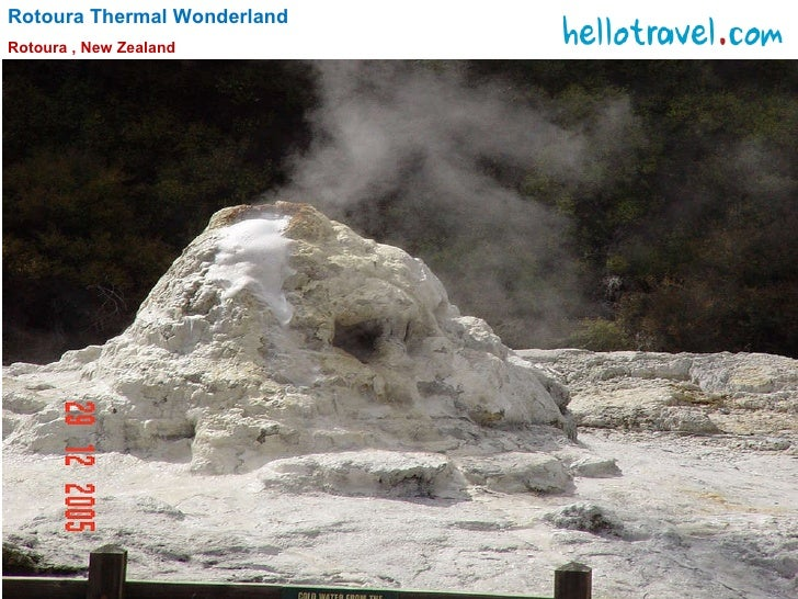 Rotoura Thermal Wonderland Rotoura , New Zealand