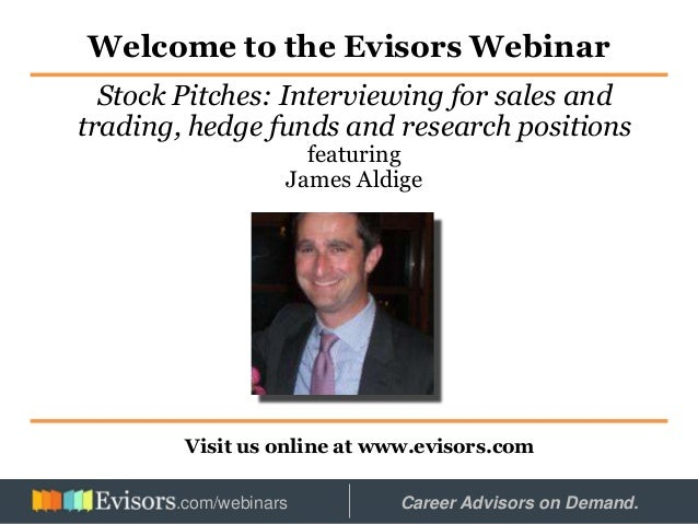 Mastering the Stock Pitch