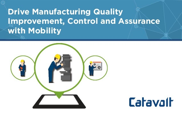 quality assurance in manufacturing pdf