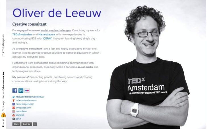 Online profileren (en slimmer werken) met Yammer voor PostNL