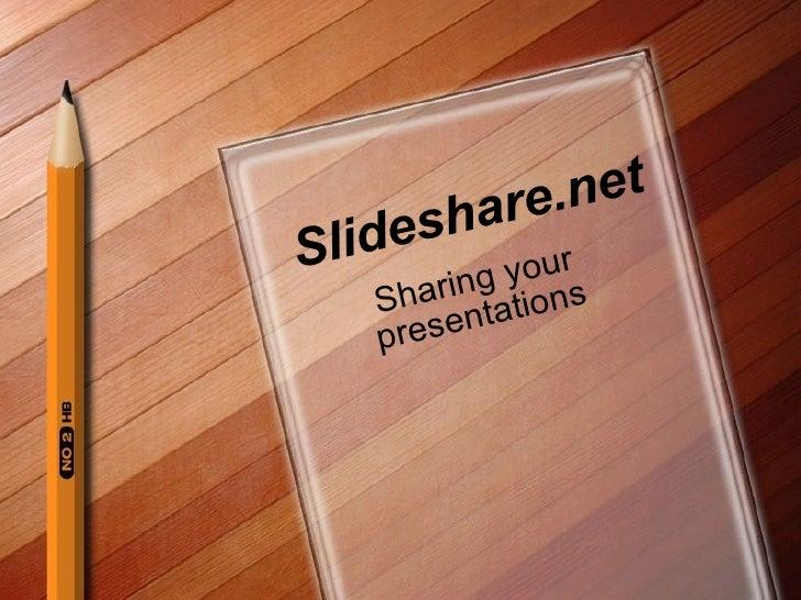 Slideshare Preso  T T P D