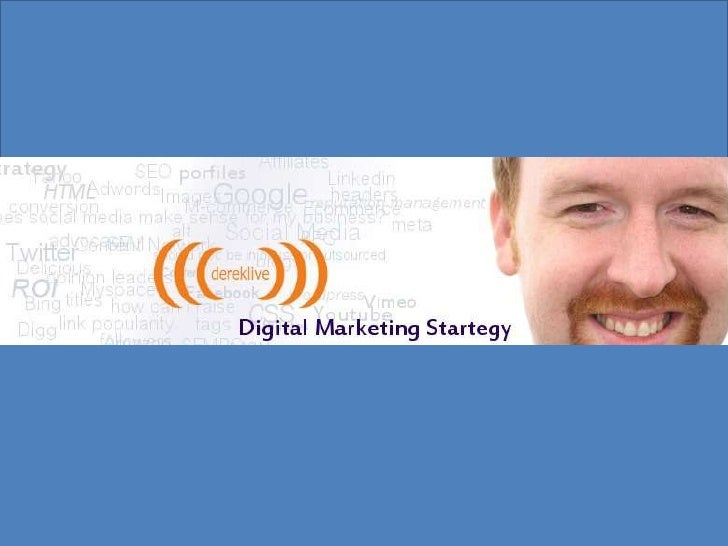 Derek Hanson Digital Marketing Resume