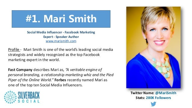 """"""""""" Profile - Mari Smith is one of the world's leading social media strategists and widely recognized as the top Facebook m..."""