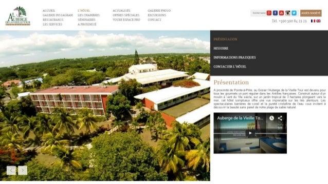 Hotel Guadeloupe - Auberge de la Vieille Tour