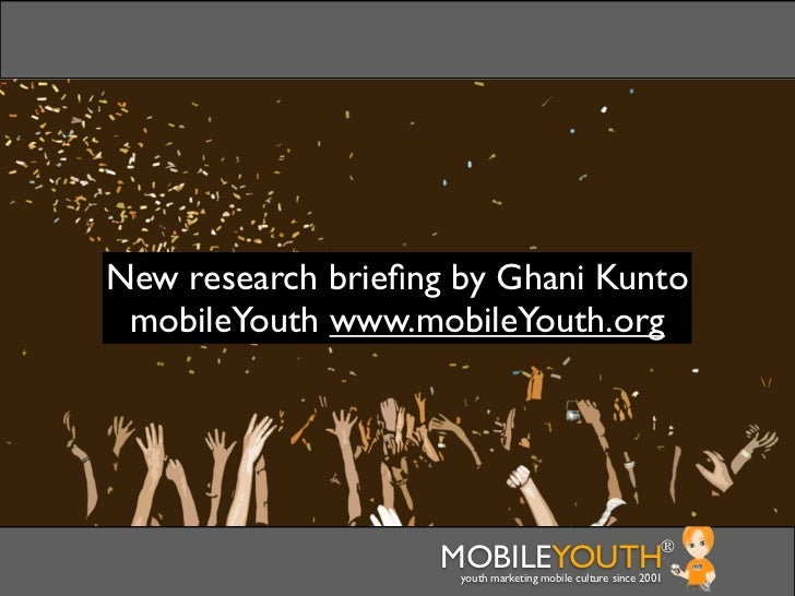 [mobileYouth] Banking: Youth marketing for banks - peer recommendation and customer service