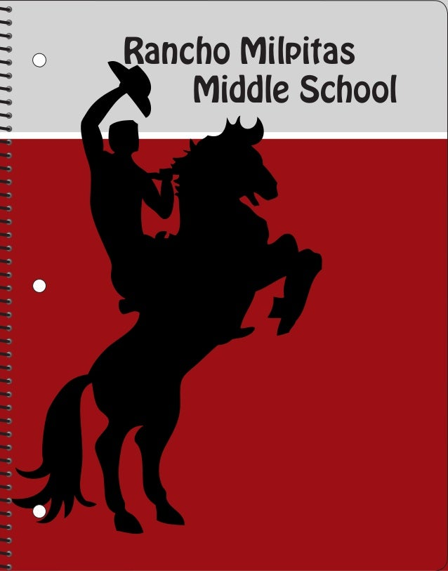 Rancho Milpitas Middle School Spiral-bound Notebooks