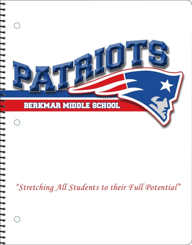 "IO TSPATR  BERKMAR MIDDLE SCHOOL""Stretching All Students to their Full Potential"""
