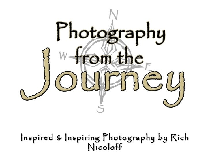 Photography from the Journey