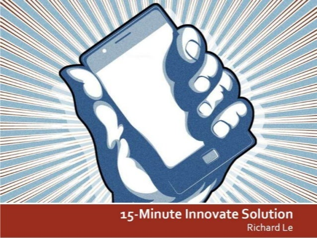15-Minute Innovate Solution