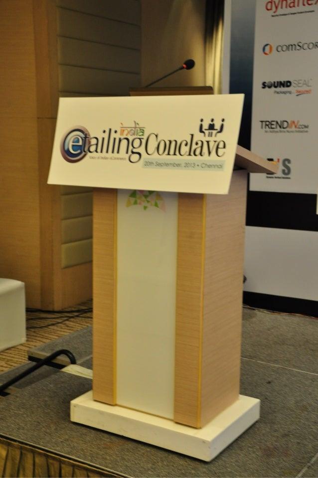 eTailing India Chennai Conclave 2013 Part-2
