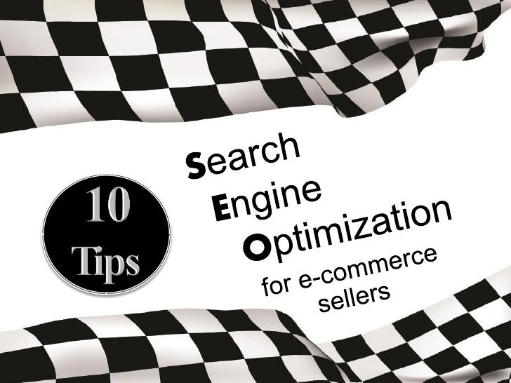 Search Engine Optimization for E-commerce Sellers