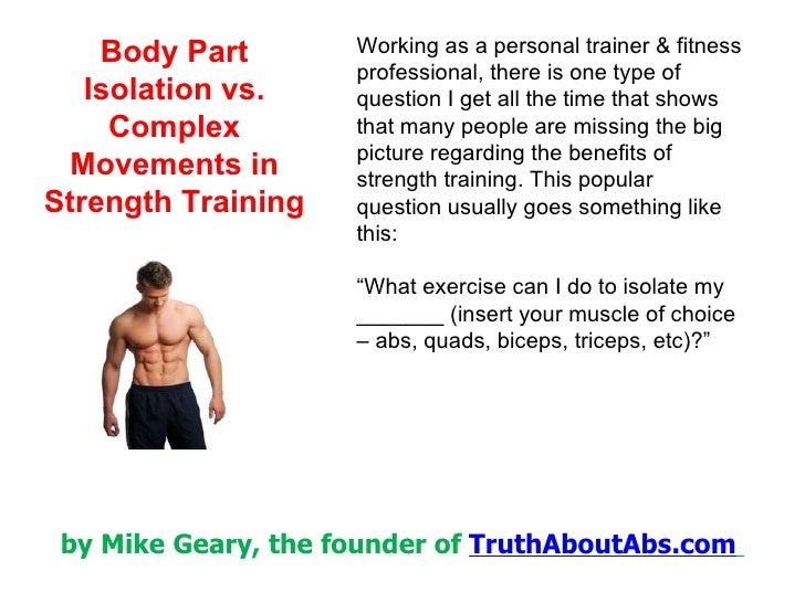 Working as a personal trainer & fitness professional, there is one type of question I get all the time that shows that man...
