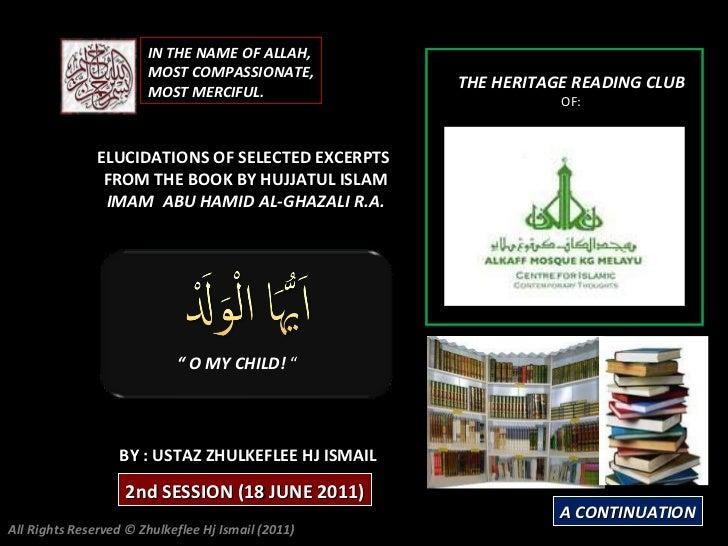[Slideshare]alkaff mosquesession(18 june-2011) (session#2)