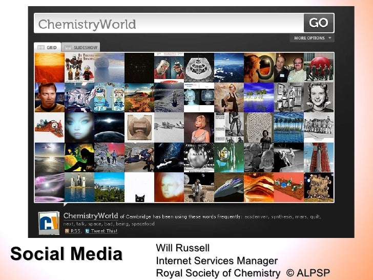 Will RussellSocial Media   Internet Services Manager               Royal Society of Chemistry © ALPSP