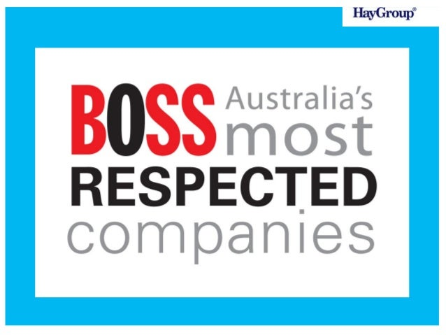 Australia's Most Respected Companies in the 2013 survey know what it takes to transform their business to improve the rele...