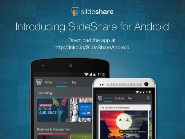 SlideShare's New App for Android