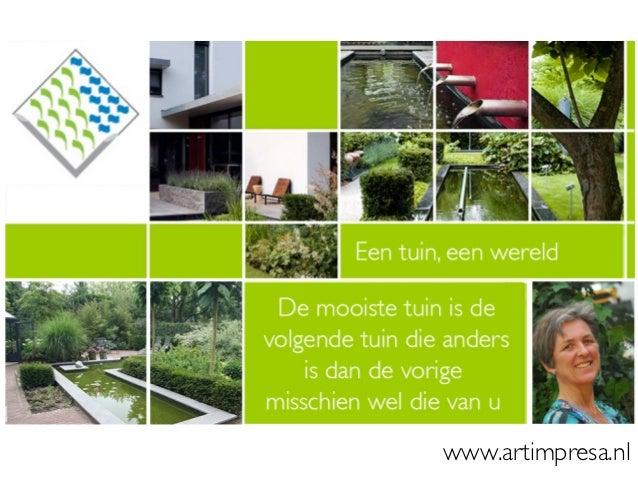 ARTIMPRESA Studio voor Tuinvormgeving Cromvoirt