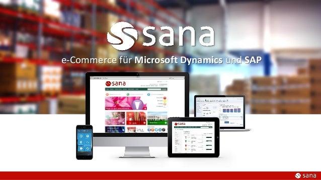 e-Commerce für Microsoft Dynamics und SAP