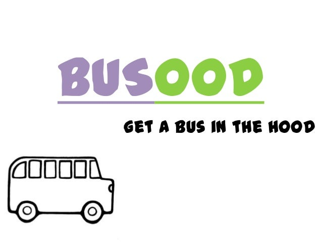 BUSOODget a bus in the hood