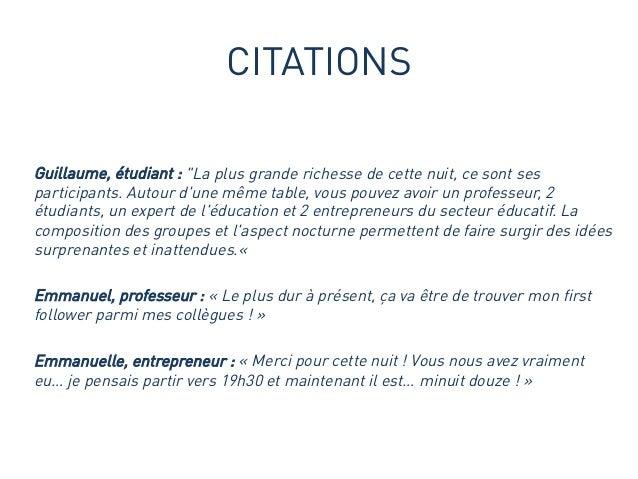 La change it yourself night education 2014 by noise - Esprit d equipe citation ...