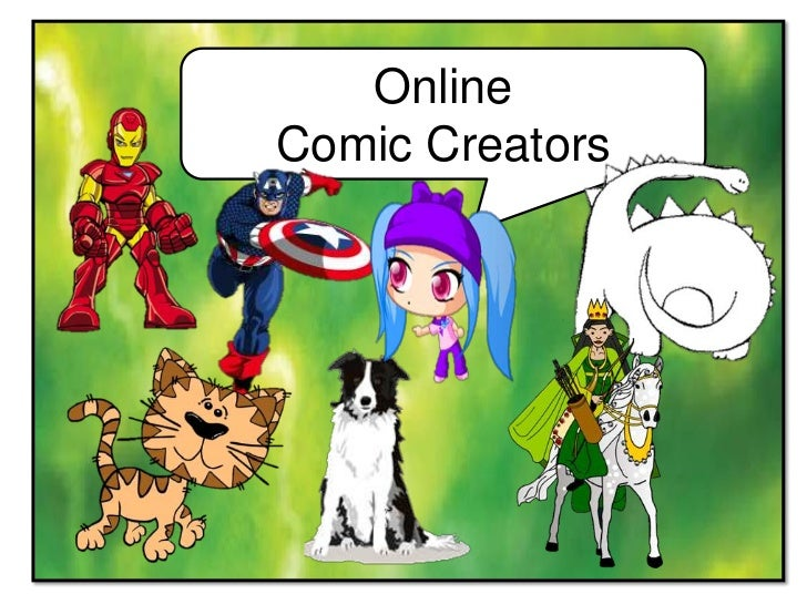 Online Comic Creators