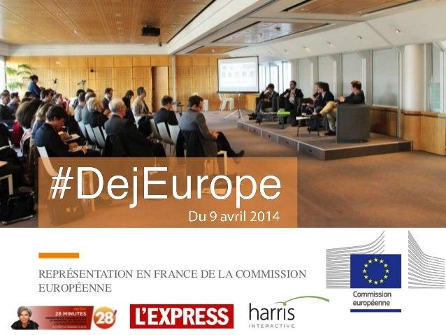 REPRÉSENTATION EN FRANCE DE LA COMMISSION EUROPÉENNE