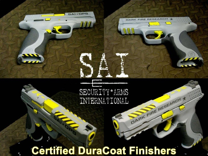 Security Arms International Certified Duracoat Finishers