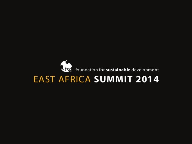 FSD's East Africa Summit 2014