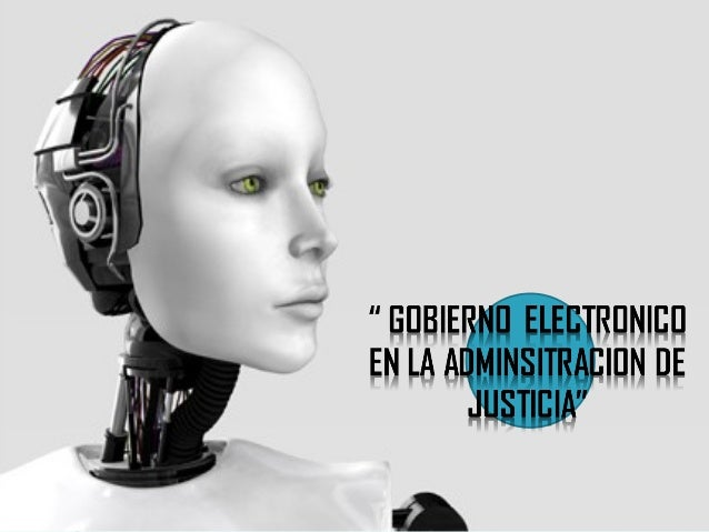 GOBIERNO ELECTRONICO EN EL PODER JUDICIAL