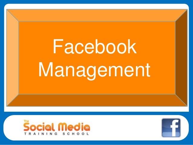 Social Media Management Facebook