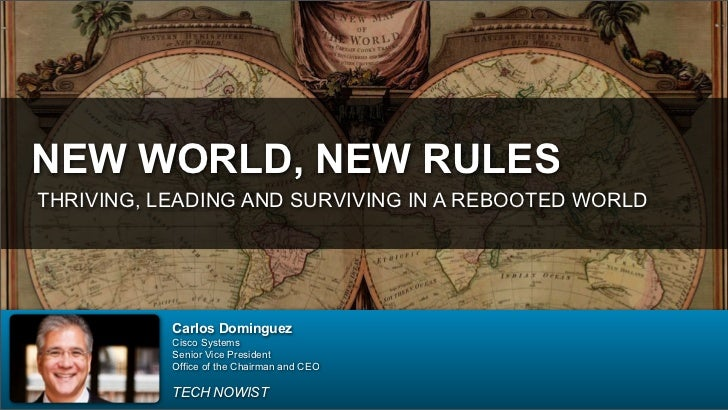 New World, New Rules