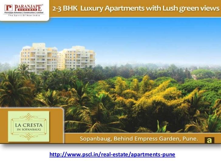 Paranjape Schemes presents La Cresta 2 & 3 BHK Apartments Sopan baug, Pune   Apartments Pune   Apartments Sopan baug