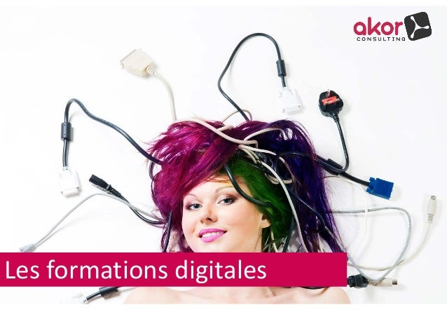 Les formations digitales