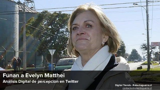 Funan a Evelyn Matthei Análisis Digital de percepción en Twitter Digital Trends - Robertoguerra.cl contacto@robertoguerra....