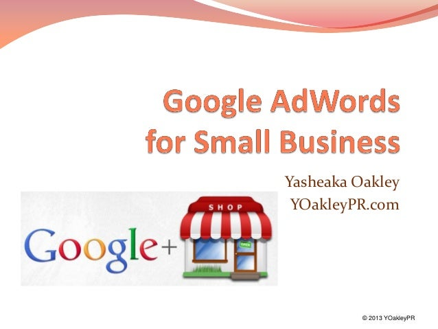 Google AdWords for Small Business