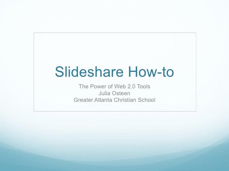 Slideshare Helps